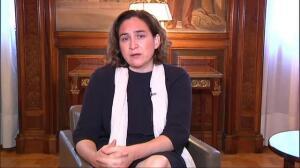 """Ada Colau hace un llamamiento a la unidad: """"hoy más que nunca tenemos que ser fuertes"""""""