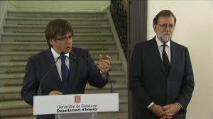 """Puigdemont: """"Estamos determinados a ganar la batalla del terrorismo"""""""