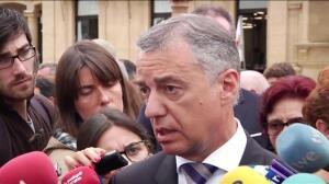 Urkullu condena los atentados de Cataluña
