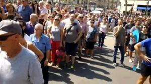 Emotivo homenaje a las víctimas del atentado en Las Ramblas