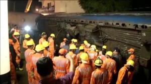 Al menos 23 muertos en un accidente de tren en la India