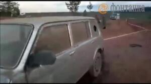 Un helicóptero ruso dispara por error contra el público en el transcurso de unas maniobras militares