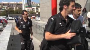 El Éibar ya está en su hotel de concentración en Barcelona