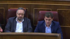 Rivera fracasa en su iniciativa para que el Congreso respalde a Rajoy ante los independentistas