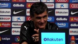 Valverde se queda sin palabras ante el póker de goles de Messi al Eibar
