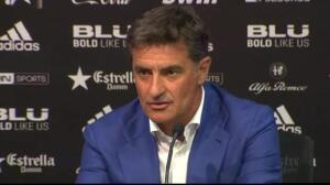 Marcelino afirma que hay que seguir trabajando y Michel protege a sus jugadores de las críticas