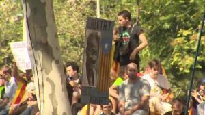 Concentración permanente contra las detenciones en Cataluña