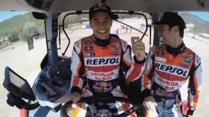 Márquez y Pedrosa, ganadores del primer TractorGP