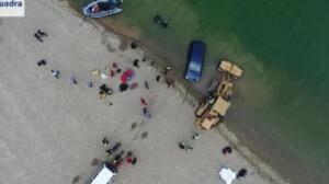 Los buceadores hallan dos cadáveres bajo las aguas del pantano de Susqueda