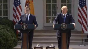 """Trump: """"People of Catalonia would stay with Spain"""""""