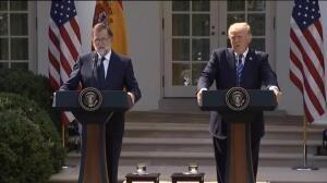 """Trump: """"España es un gran país y tendría que seguir unido"""""""