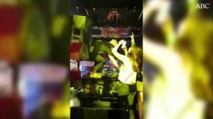 El himno de España en una discoteca de Madrid