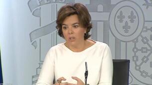 Gobierno afea la carta de la CUP a Puigdemont