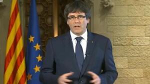 Puigdemont propone un pleno para contestar al gobierno