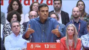 """Pedro Sánchez: """"Si se activa el 155 dependerá de la decisión última del señor Puigdemont"""""""