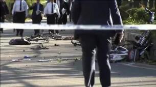 Ocho muertos y 11 heridos en un atropello múltiple en Nueva York
