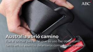 Seis cosas que desconocías sobre el cinturón de seguridad