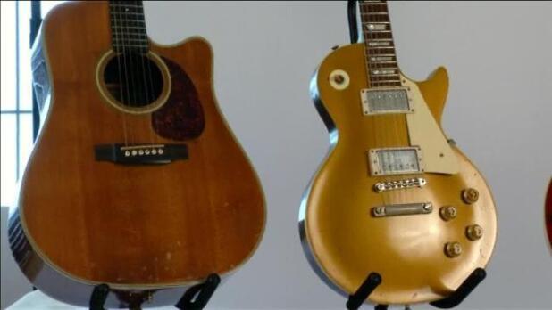 Guitarras de Elvis Presley, Hendrix o McCartney, a subasta en Nueva York el 2 de diciembre