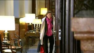 Forcadell vuelve al Parlament