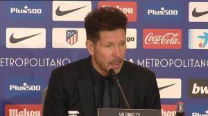 """Simeone defiende a Griezmann: """"Con los de mi familia estoy a muerte"""""""