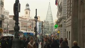 Madrid regula los flujos de peatones para evitar aglomeraciones
