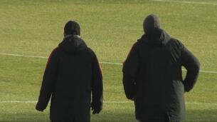 El Atlético continúa preparando el encuentro ante el Alavés