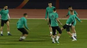 El Real Madrid se prepara para la final del Mundialito