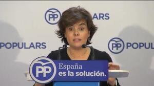 """Santamaría sobre independentistas: """"No tienen líderes"""""""