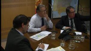 Zoido preside un gabinete de crisis en la DGT para seguir la situación de la AP-6