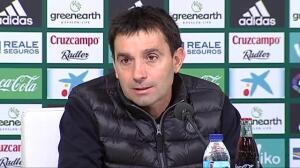 """Garitano sobre el duelo ante el Real Madrid: """"Tenemos que intentar dejar la eliminatoria abierta hasta la vuelta"""""""