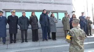 Cospedal visita la zona desmilitarizada entre Corea del Sur y Corea del Norte