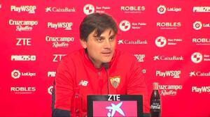 """Montella tras su pase a semis de Copa: """"Ha sido una de las noches que soñaba cuando fiché por el Sevilla"""""""