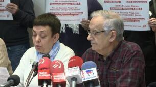 Pensionistas vascos, por una pensión mínima de 1.080 euros