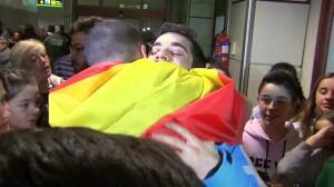 Javier Fernández regresa a España tras conseguir el bronce en los Juegos Olímpicos de Invierno