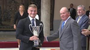 Los Reyes presiden la entrega de los Premios Nacionales del Deporte
