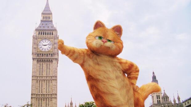 Garfield 2 pelicula dvd como nuevo jennifer lov comprar.