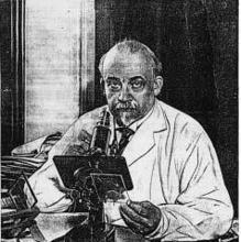 Fotografía de Oskar Vogt, el alemán que analizó el cerebro de Lenin