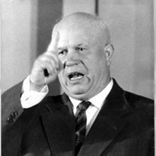 Kruschev, en una imagen de 1960, cuando era el máximo dirigente de la URSS