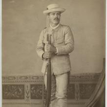 Soldado de la Guerra de Cuba, en 1895