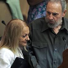 Dalia Soto del Valle fue la segunda esposa de Fidel Castro, conodida como la «primera dama invisible» por llevar una viida alejada de la política de su marido