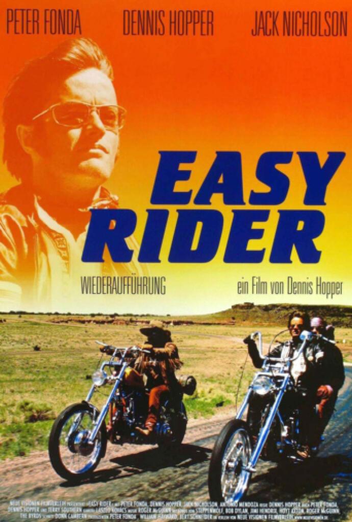 Easy Rider Buscando Mi Destino 1969 Película Play Cine