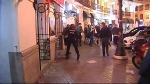 Graves incidentes anoche en Valencia protagonizados por hooligans del Celtic de Glasgow