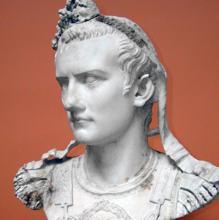 Busto idealizado de Calígula