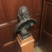 El busto de Cromwell