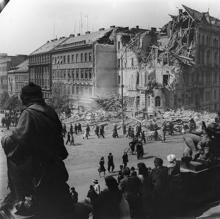 Bombardeo de Praga en 1945