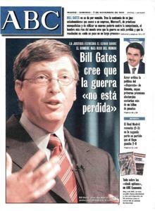 El año 1985 fue importante en la trayectoria de la empresa. Fue el año en que lanzó su versión final de Windows. Un éxito, pero inició unos años de investigaciones sobre prácticas de monopolio que llegó a 1999 con una sentencia de la que se hace eco la portada de ABC.