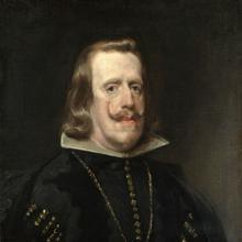 Retrato de Felipe IV, por Velázquez.